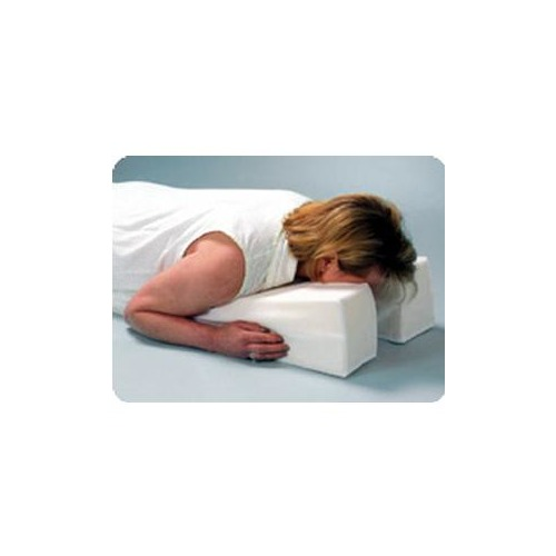hermell products inc face down pillow 29 x 14 x 6 inch