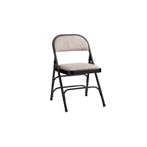 black padded folding chairs chair cover hire melton mowbray samsonite 2900 series commercial grade all steel fabric