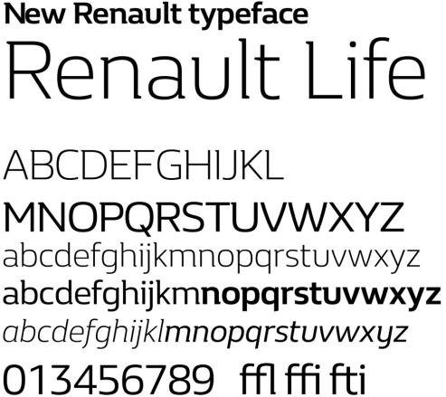 renault_typeface