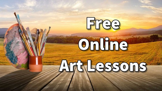 Online art classes, lessons and course in painting and ...