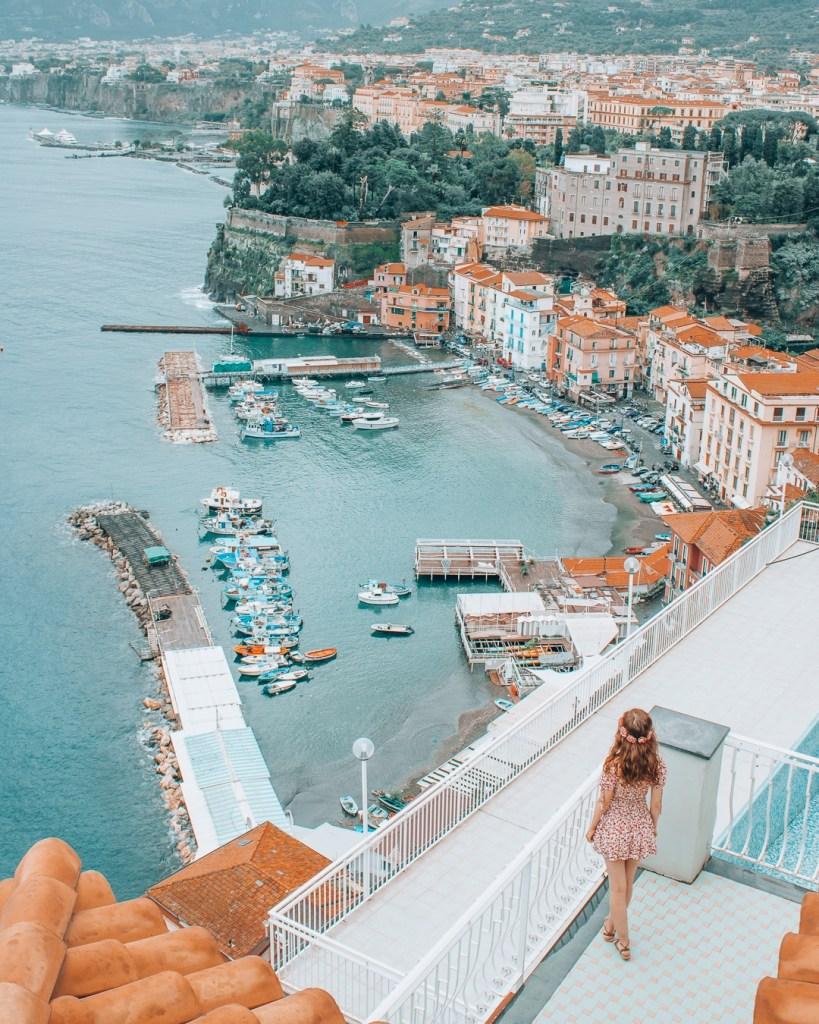 Beautiful view of Sorrento