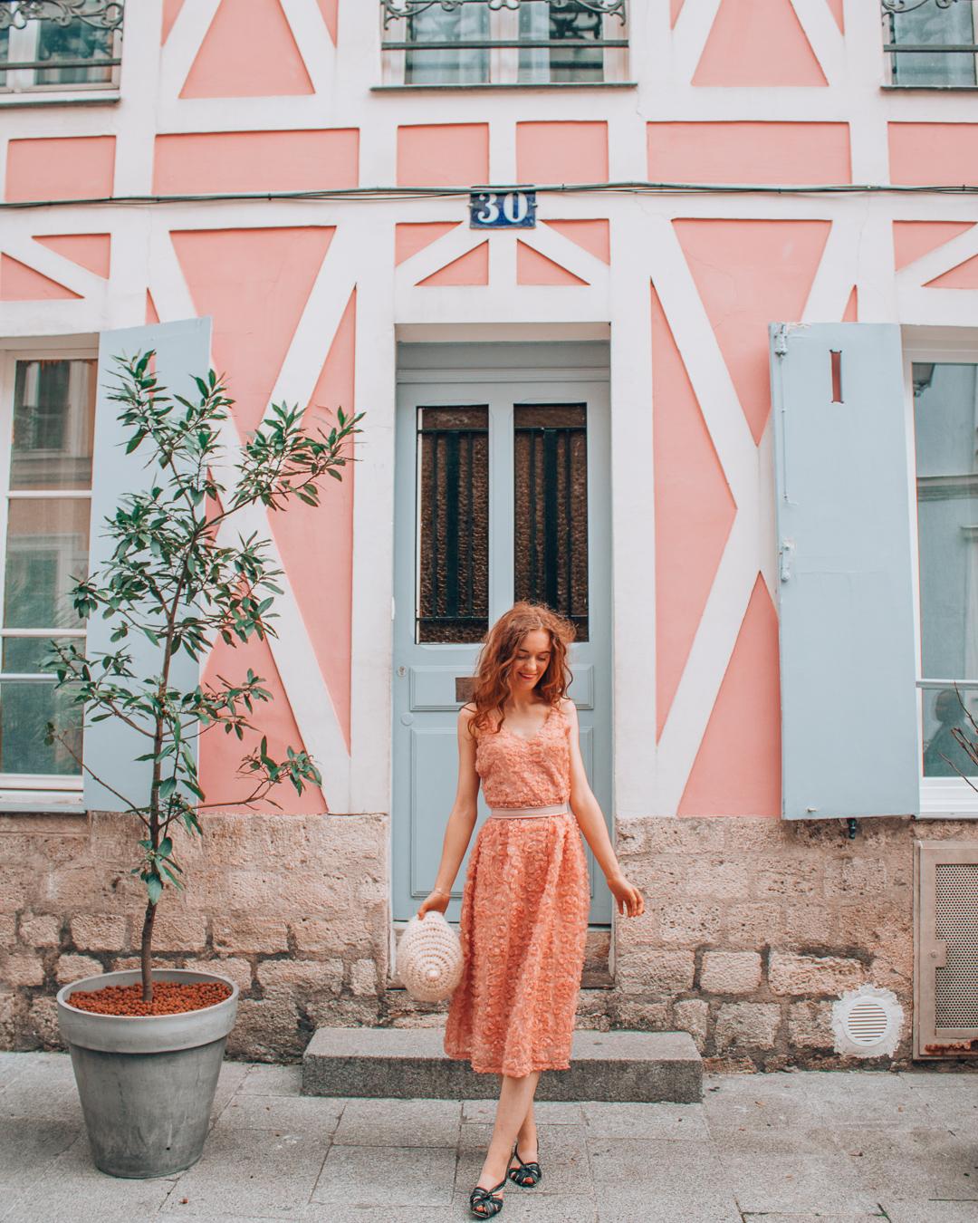 Girl in Rue Crémieux, Paris