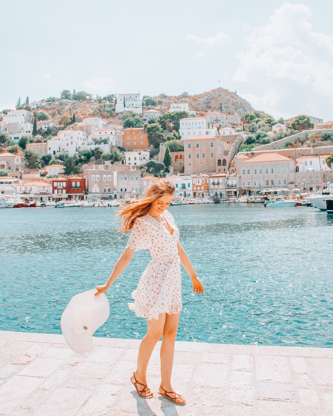 Girl in Hydra