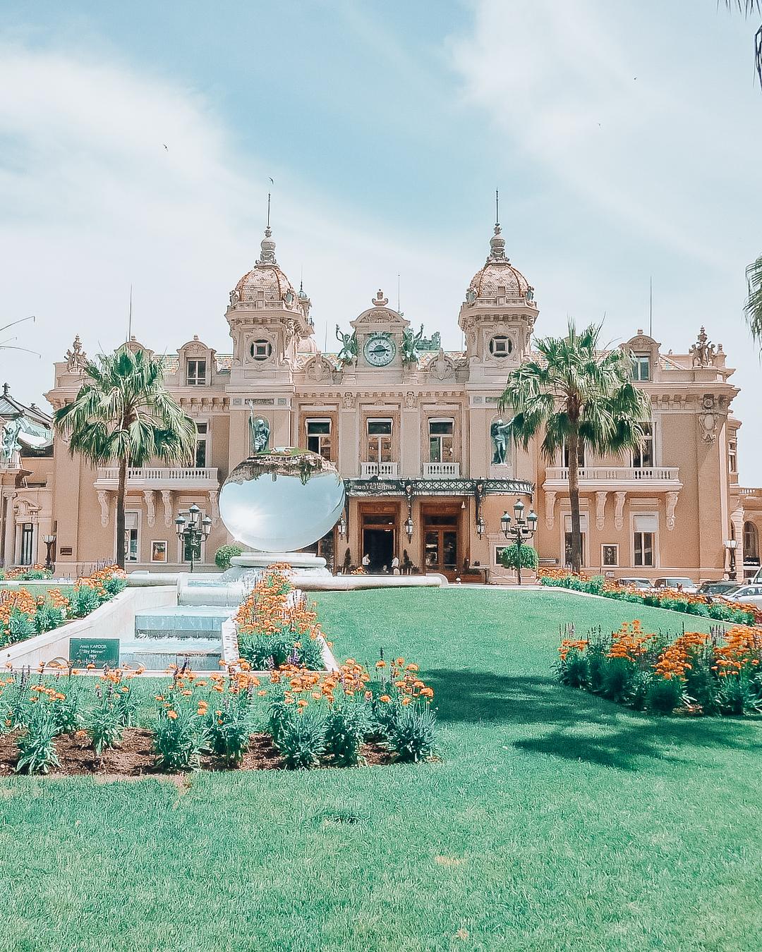 Monte Carlo Casino and grass