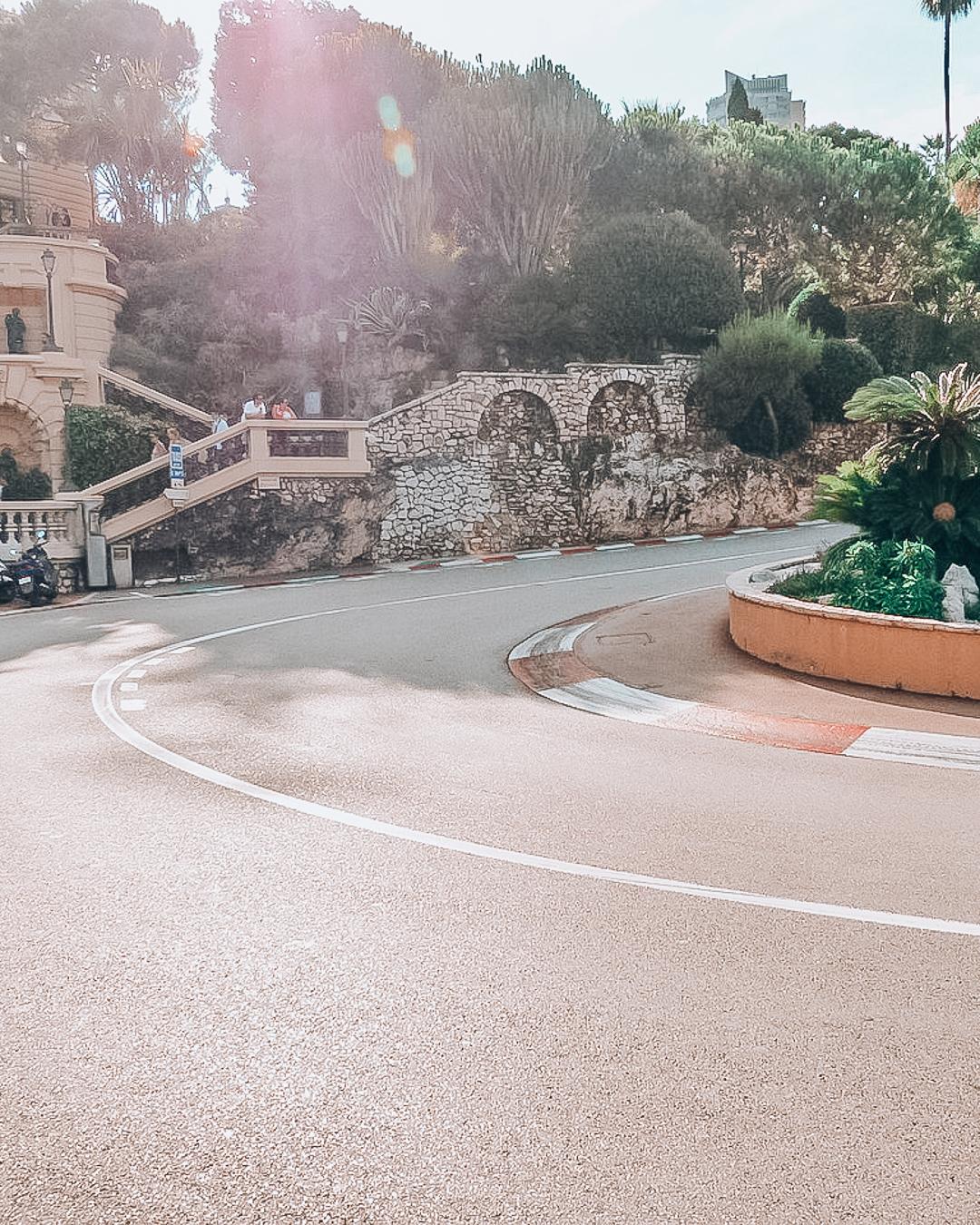 Road of Circuit the Monaco