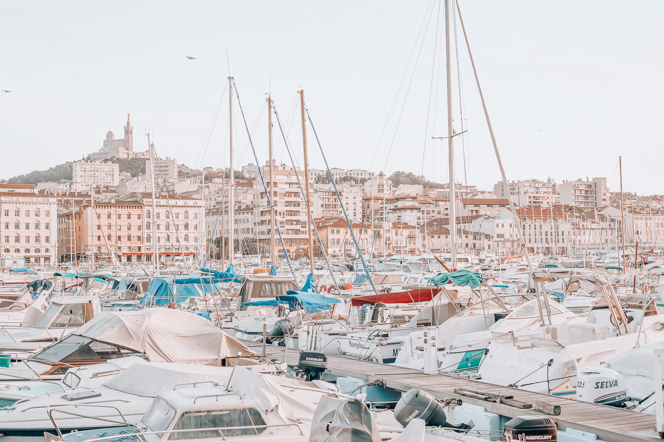Beautiful Old Port in Marseille