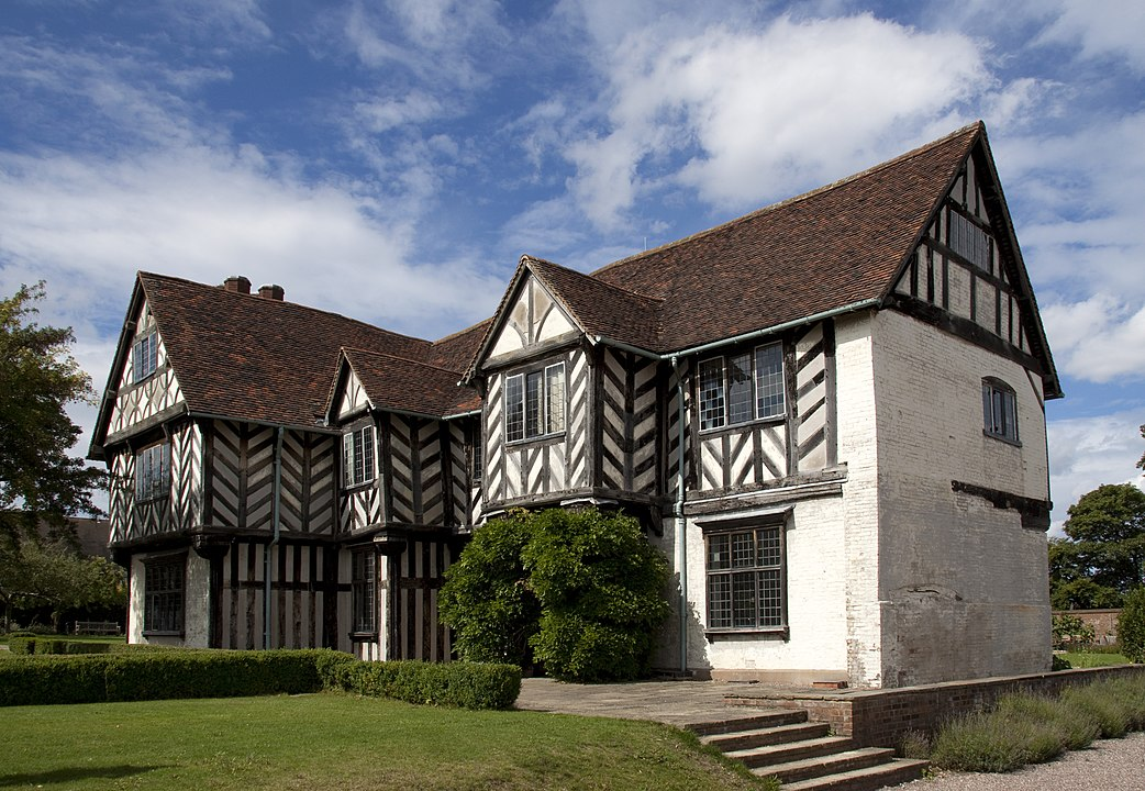 Blakesley Hall Museum from the outside
