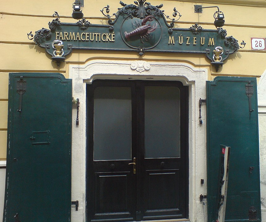 Pharmacy Museum entrance