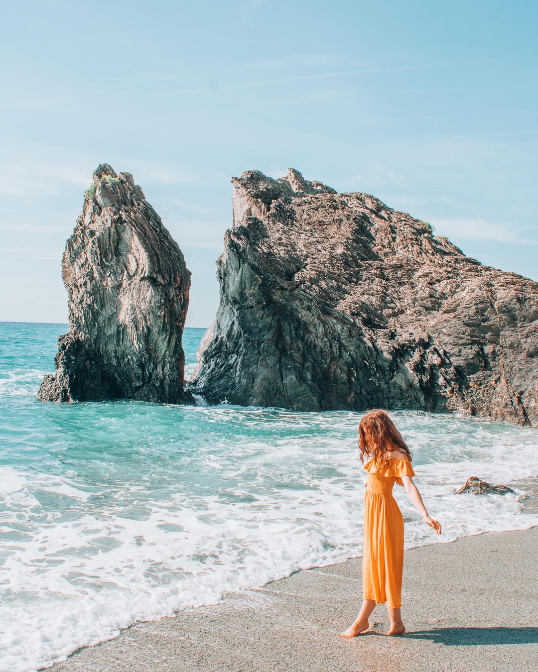 Scoglio di Monterosso on Eden Beach