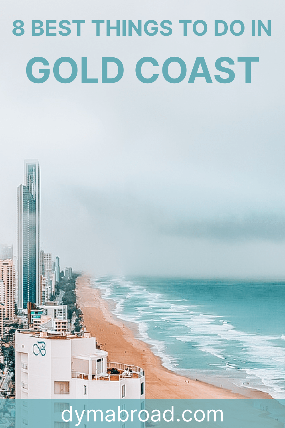 Best things to do in Gold Coast Pinterest Image 1