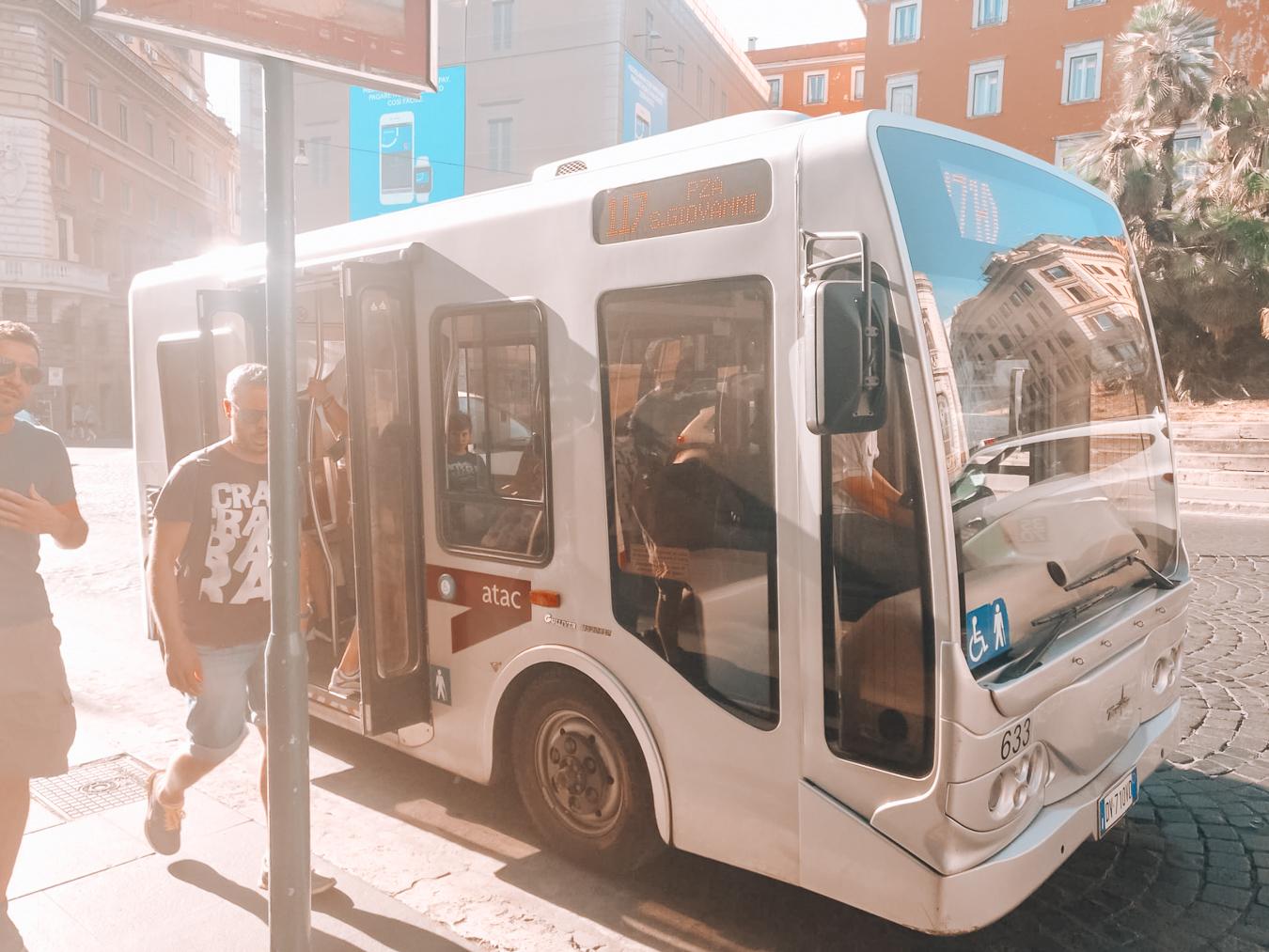 Bus in Rome
