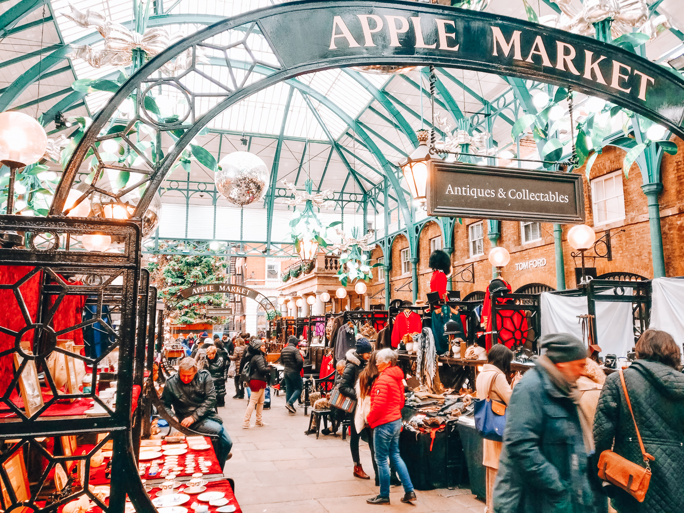 Apple Market at Covent Garden