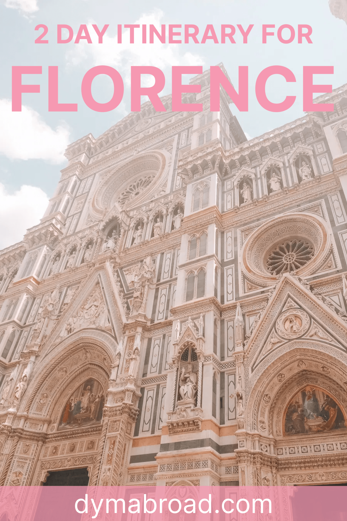 2 days in Florence second Pinterest image