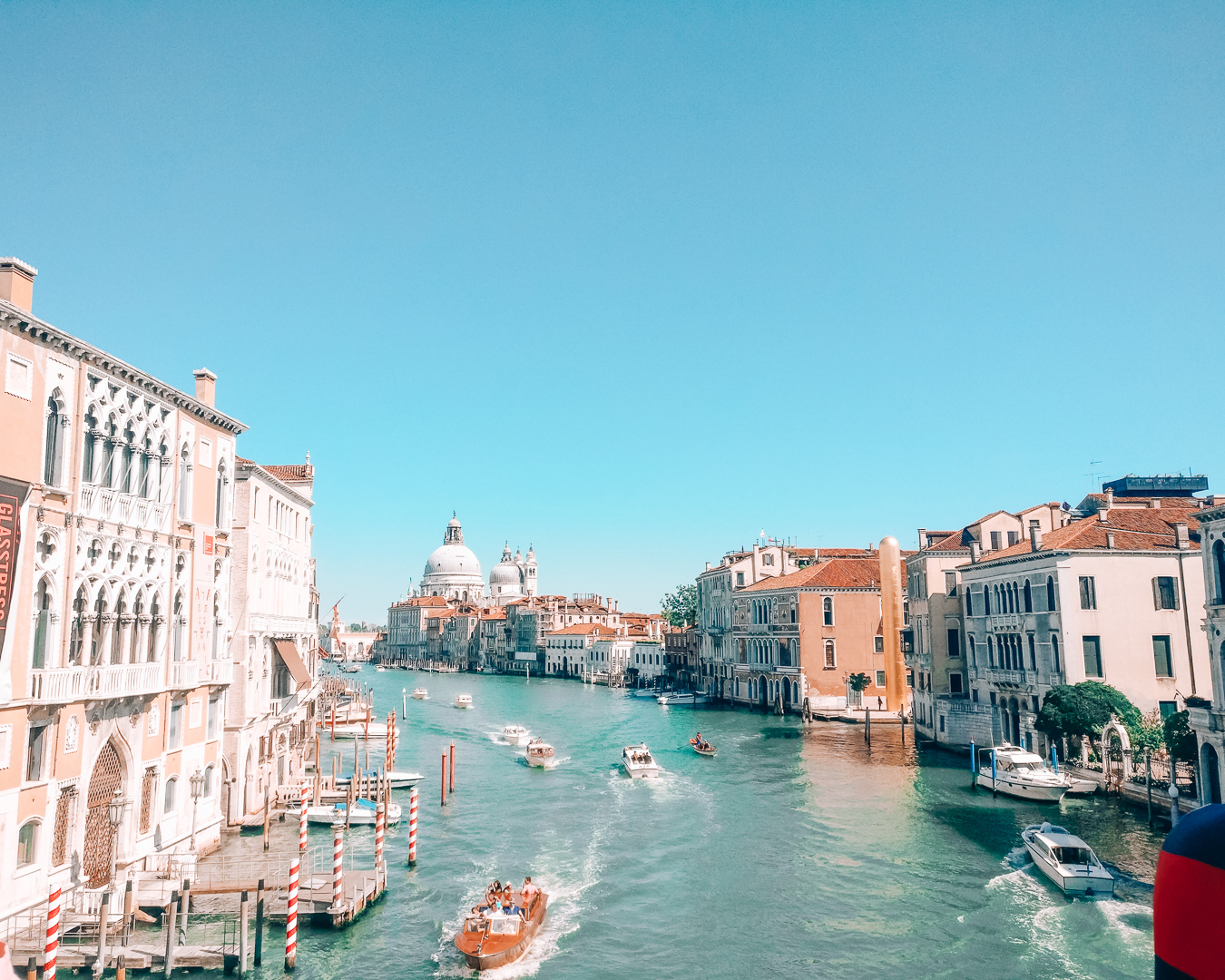View from Ponte dell'Accademia