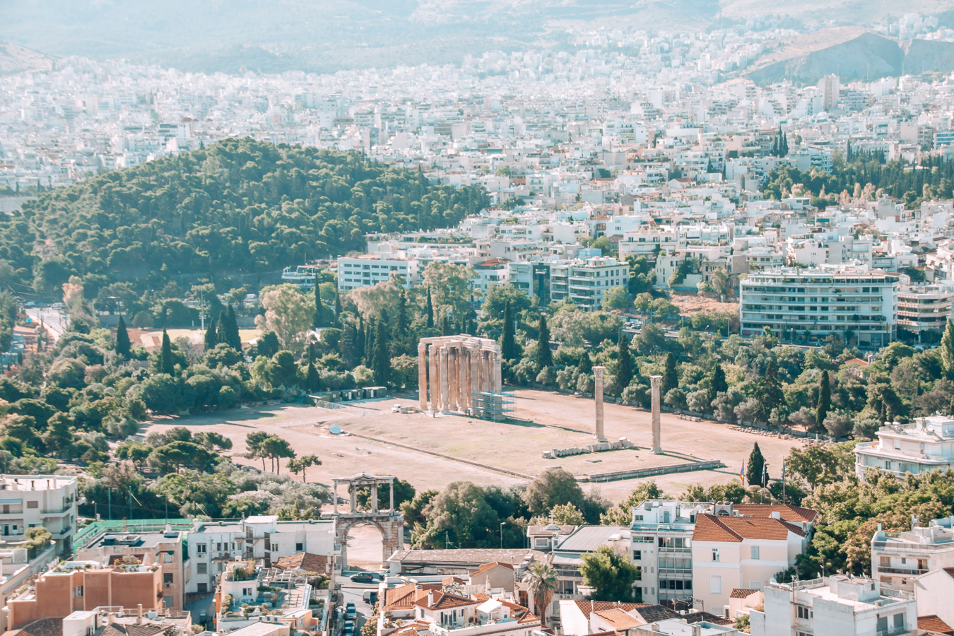 The Temple of the Olympian Zeus