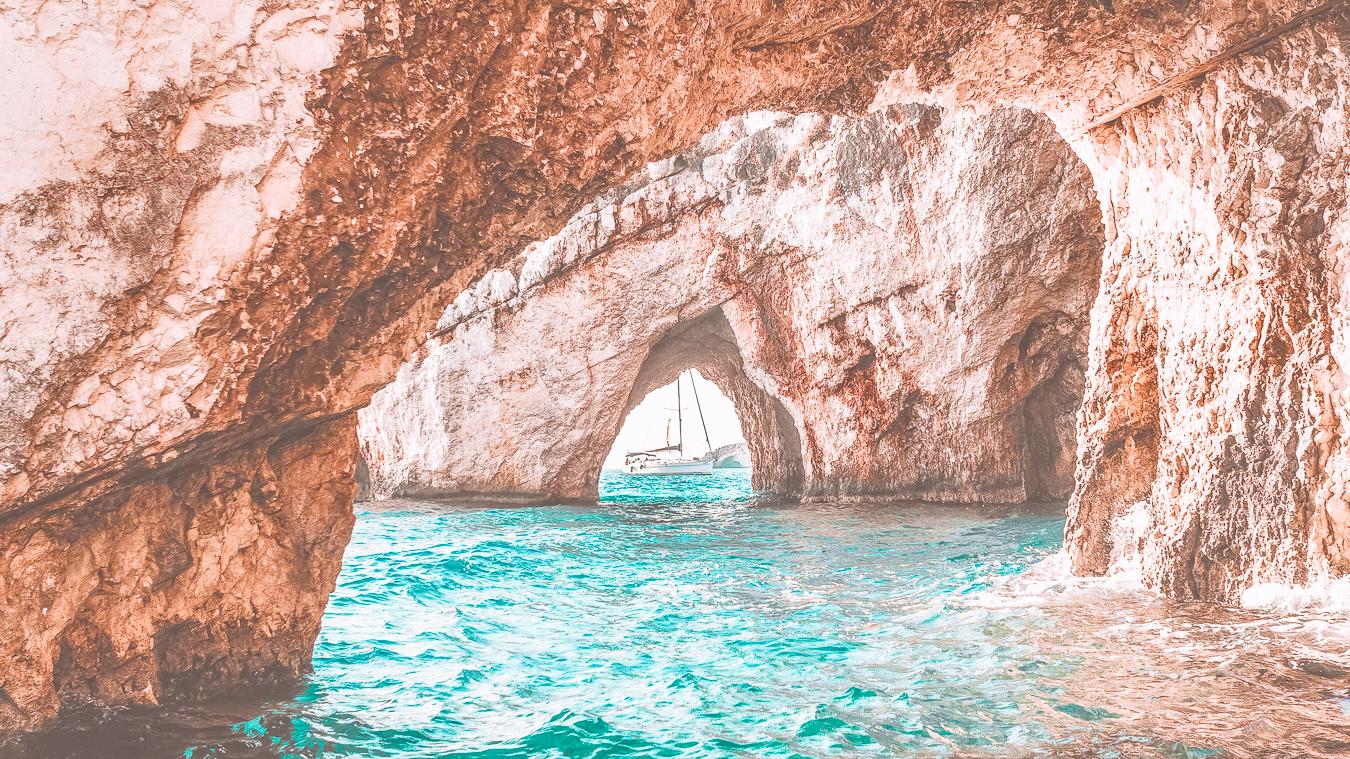 Blue Caves in Zakynthos