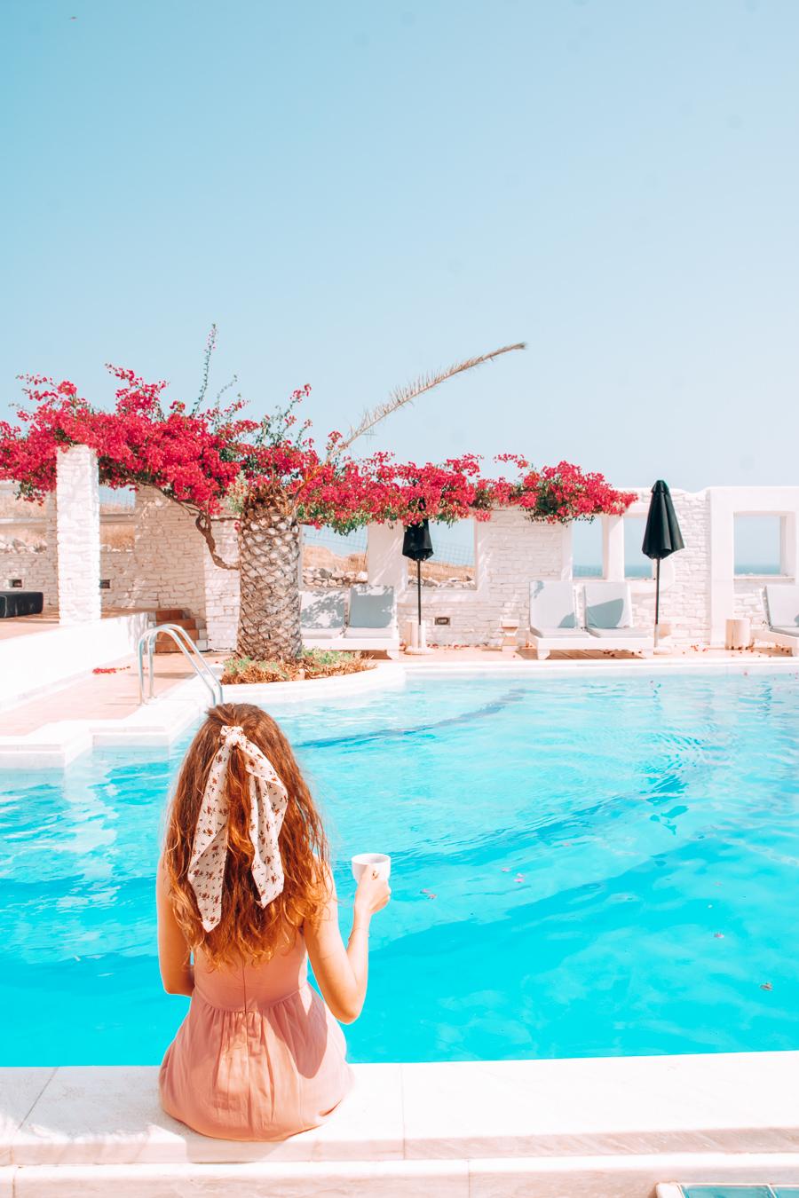 Pool at Mr & Mrs White Paros