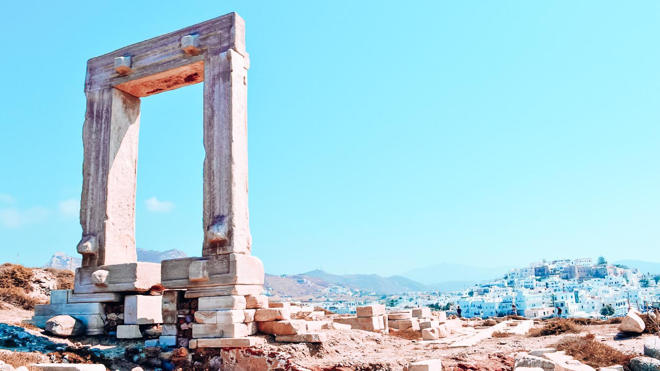 Temple of Apollo in Naxos