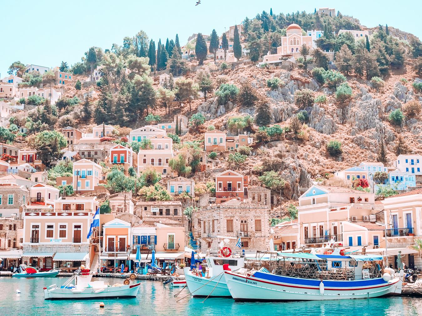 Houses in Symi