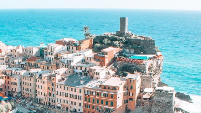 Doria Castle in Cinque Terre