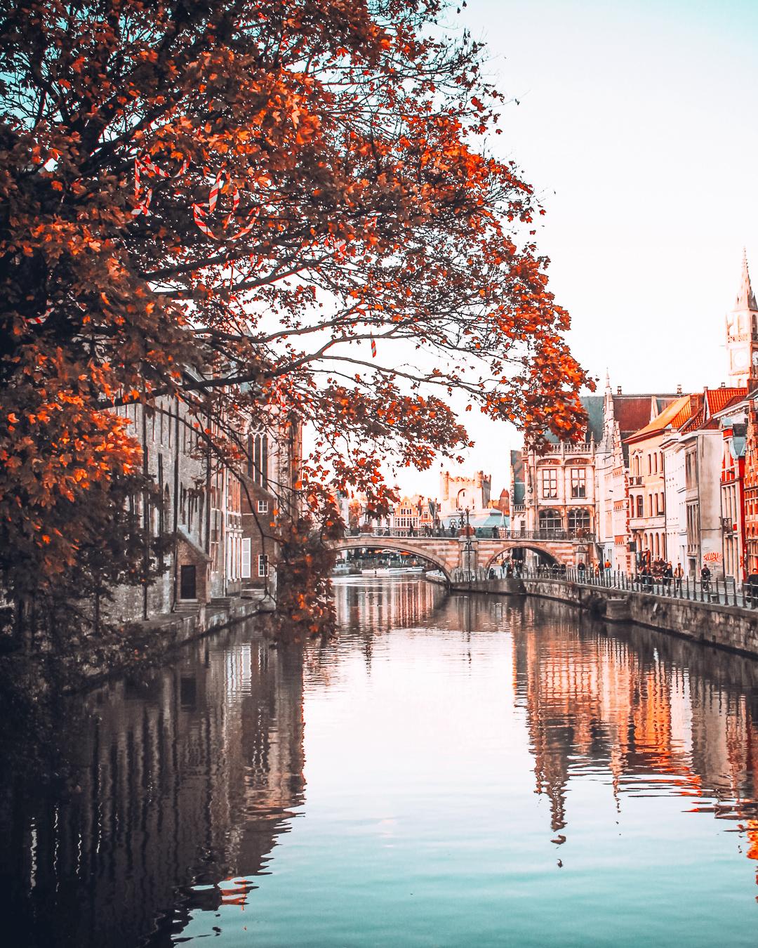 Ghent during autumn
