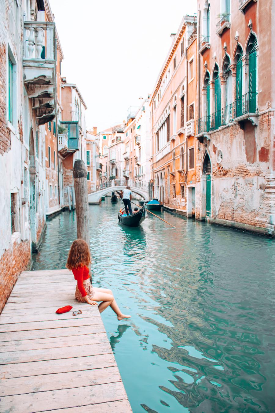 Girl in Venice
