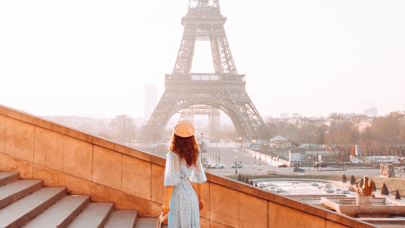 The Eiffel Tower in the City of Love