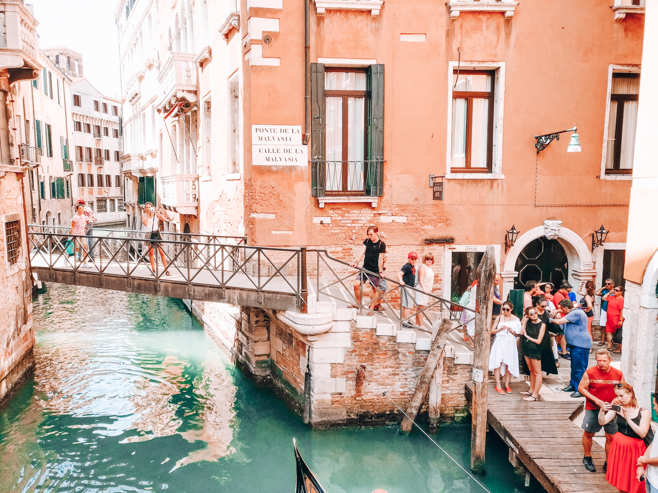 A busy place in Venice