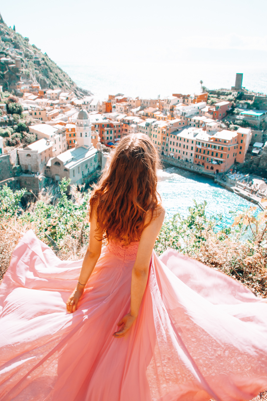 Girl in Vernazza