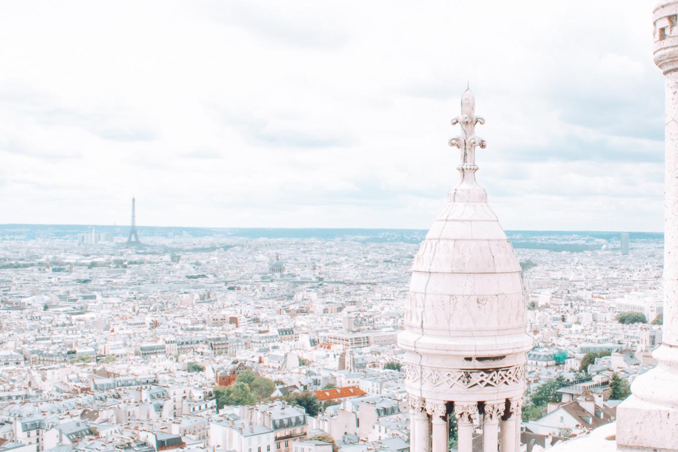 View of Paris from the Sacré-Cœur