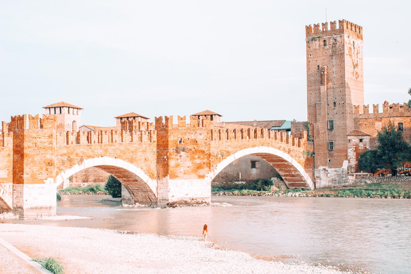 Castelvecchio Bridge and the river