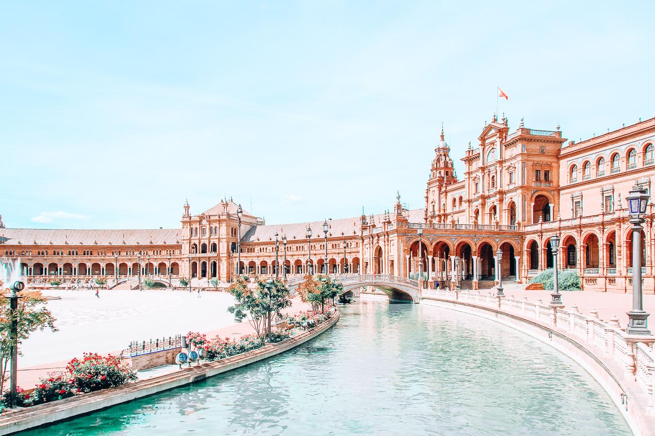 Plaza de España in Seville