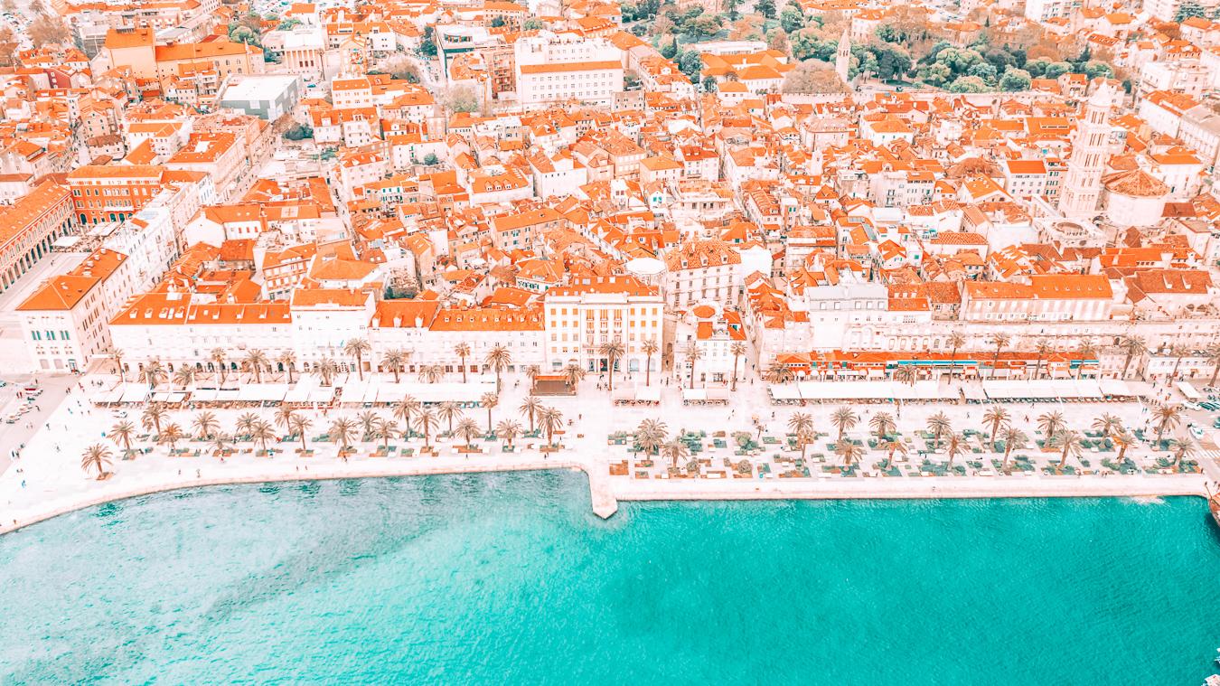 Beautiful view of Split