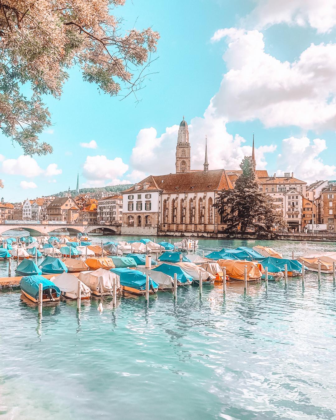 Boats in Zürich