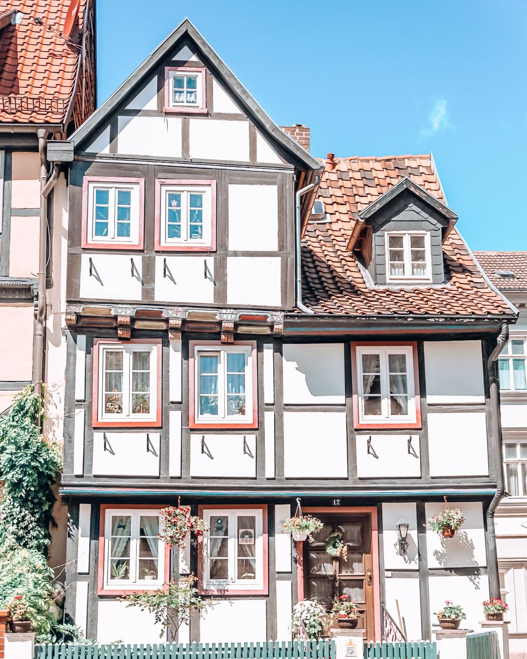 A building in Quedlinburg