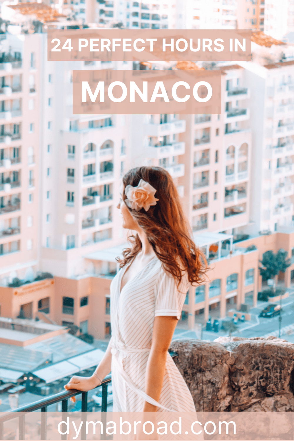 One day in Monaco second Pinterest image