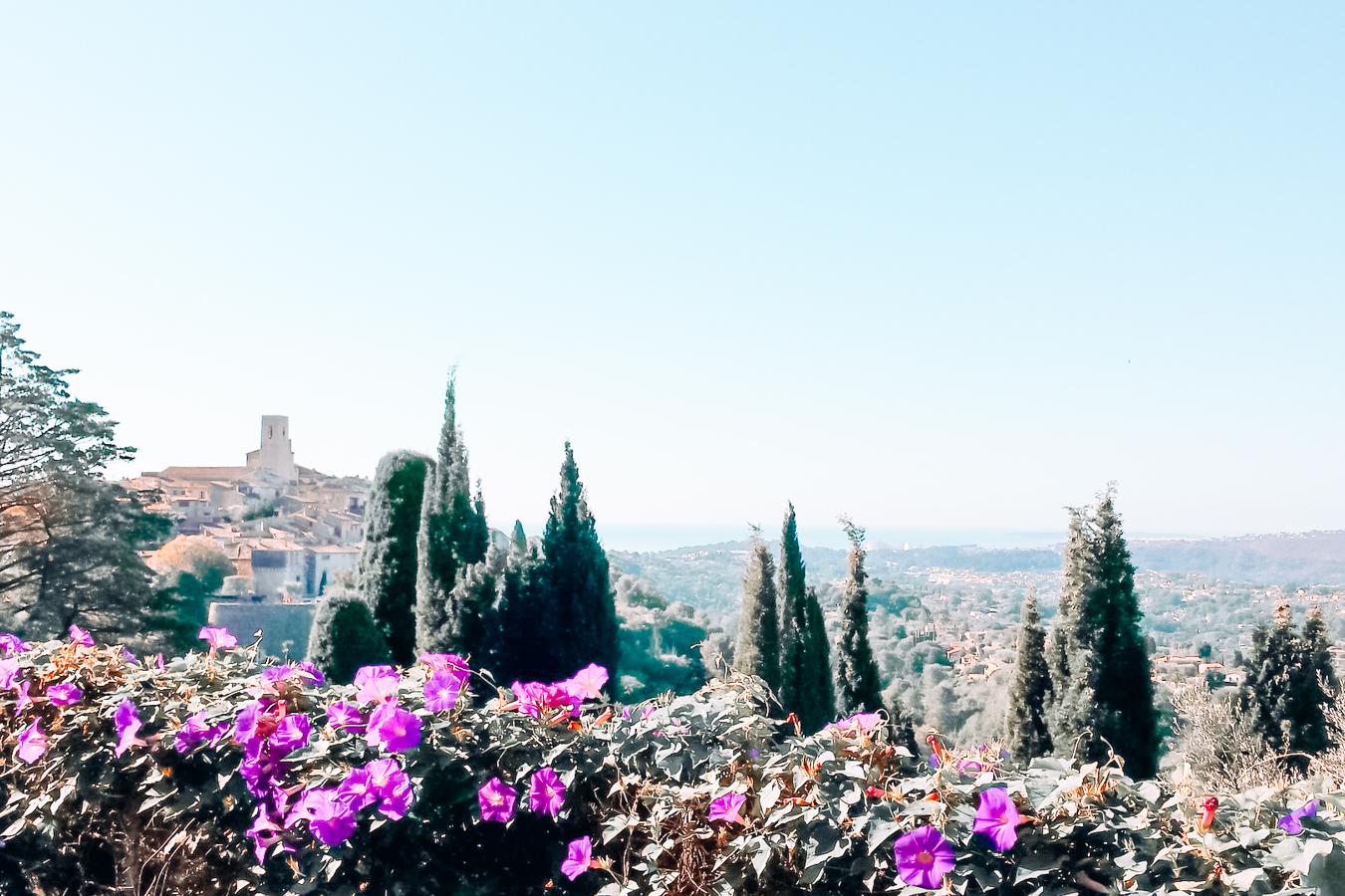 View of St Paul de Vence