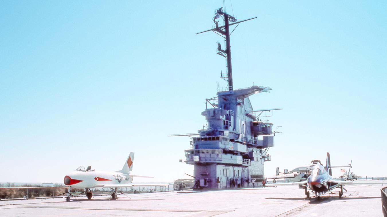 USS Yorktown in Charleston