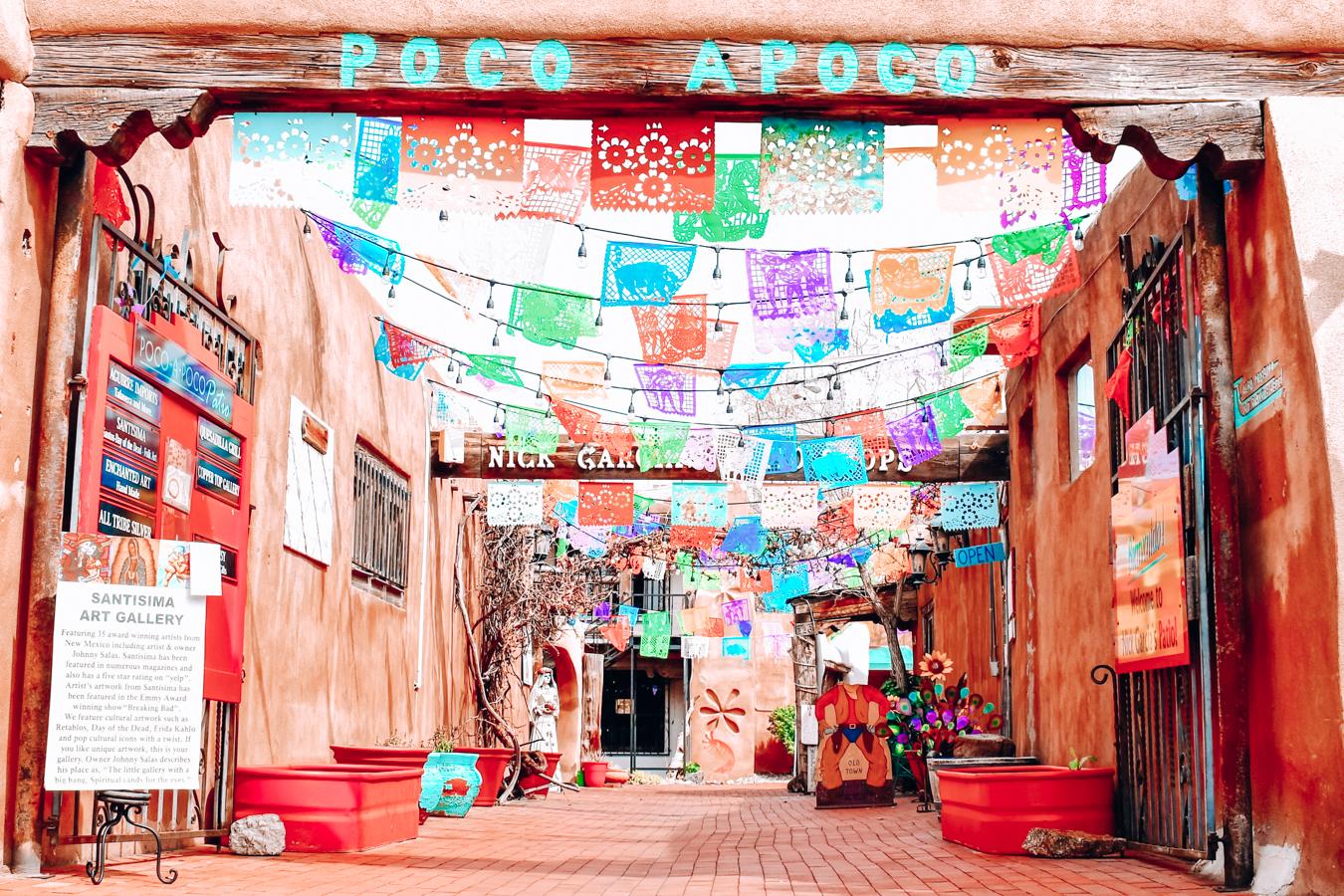 Poco Apoco at Old Town Albuquerque