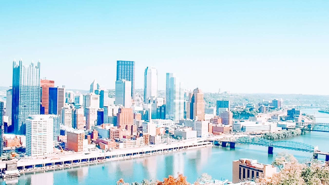 Buildings in Downtown Pittsburgh