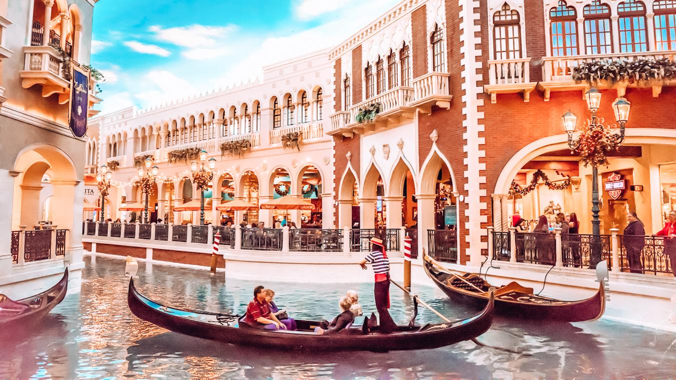 Gondolas in Las Vegas