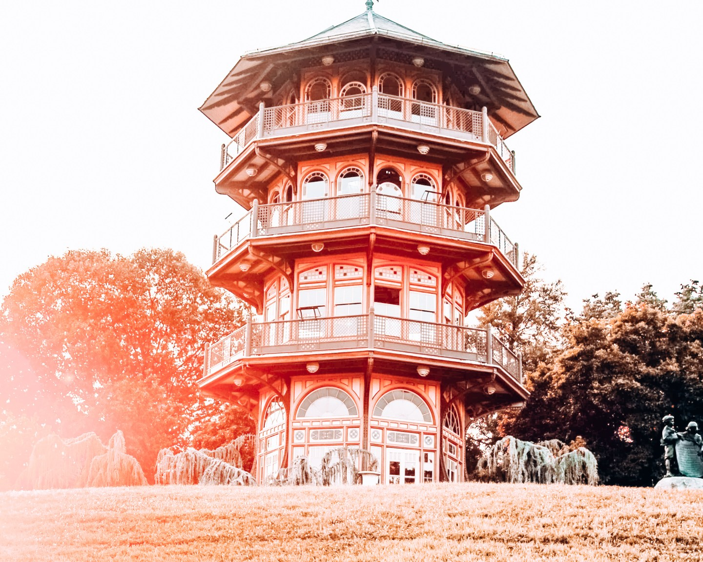 Patterson Park Pagoda in Baltimore