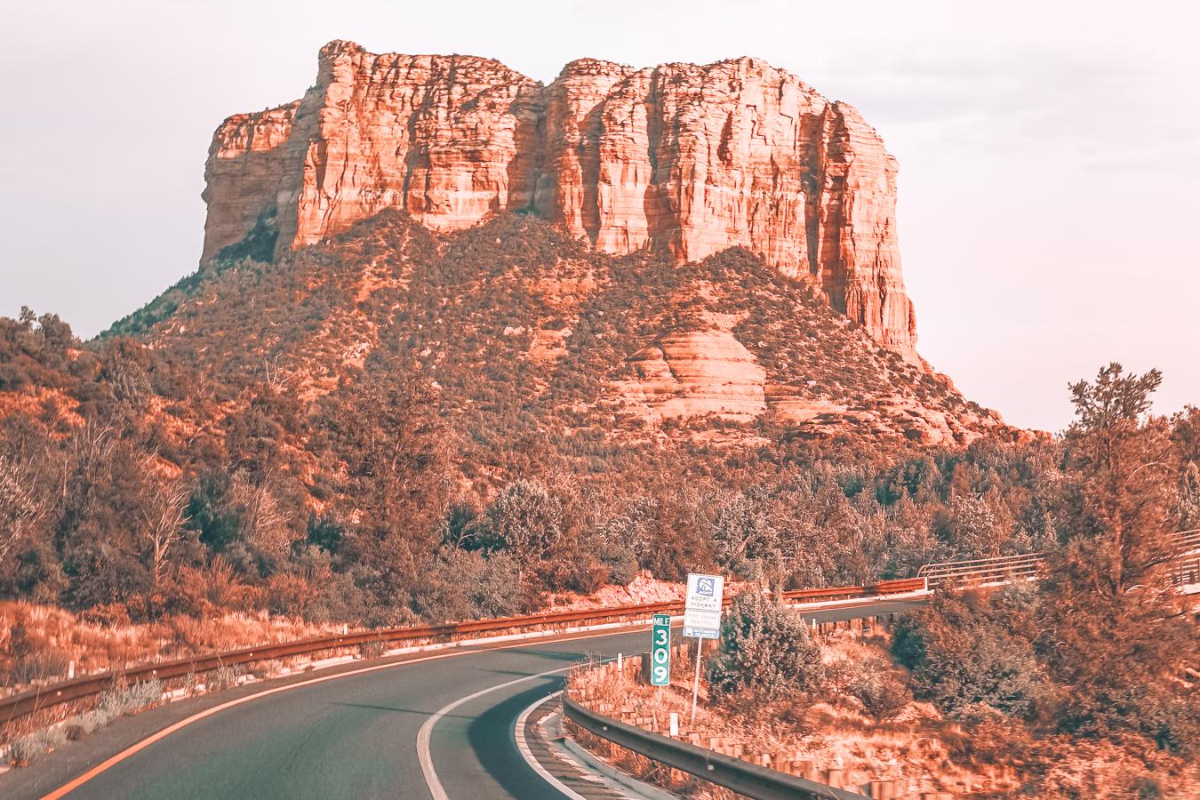 Road in Sedona, Arizona