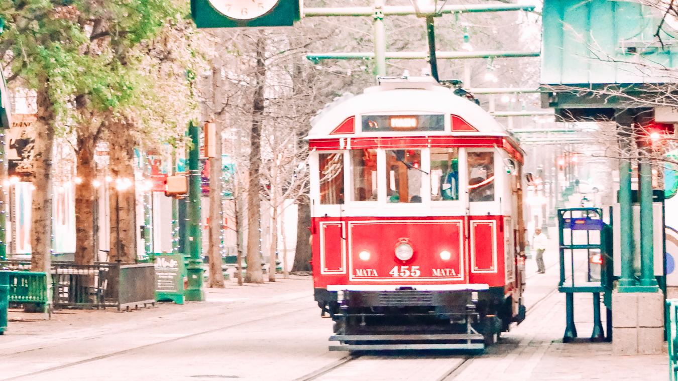 Trolley in Memphis