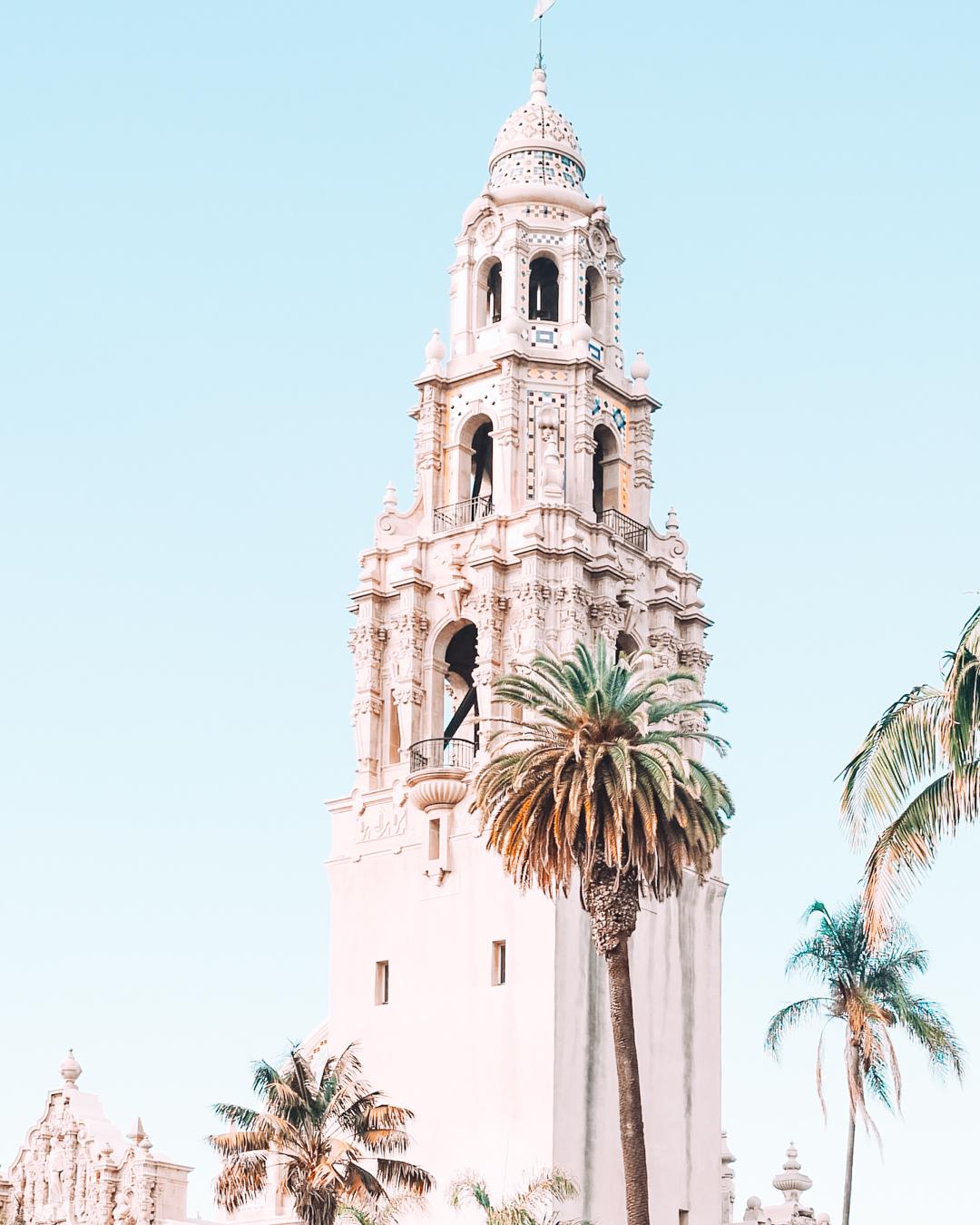 Building in Balboa Park in San Diego