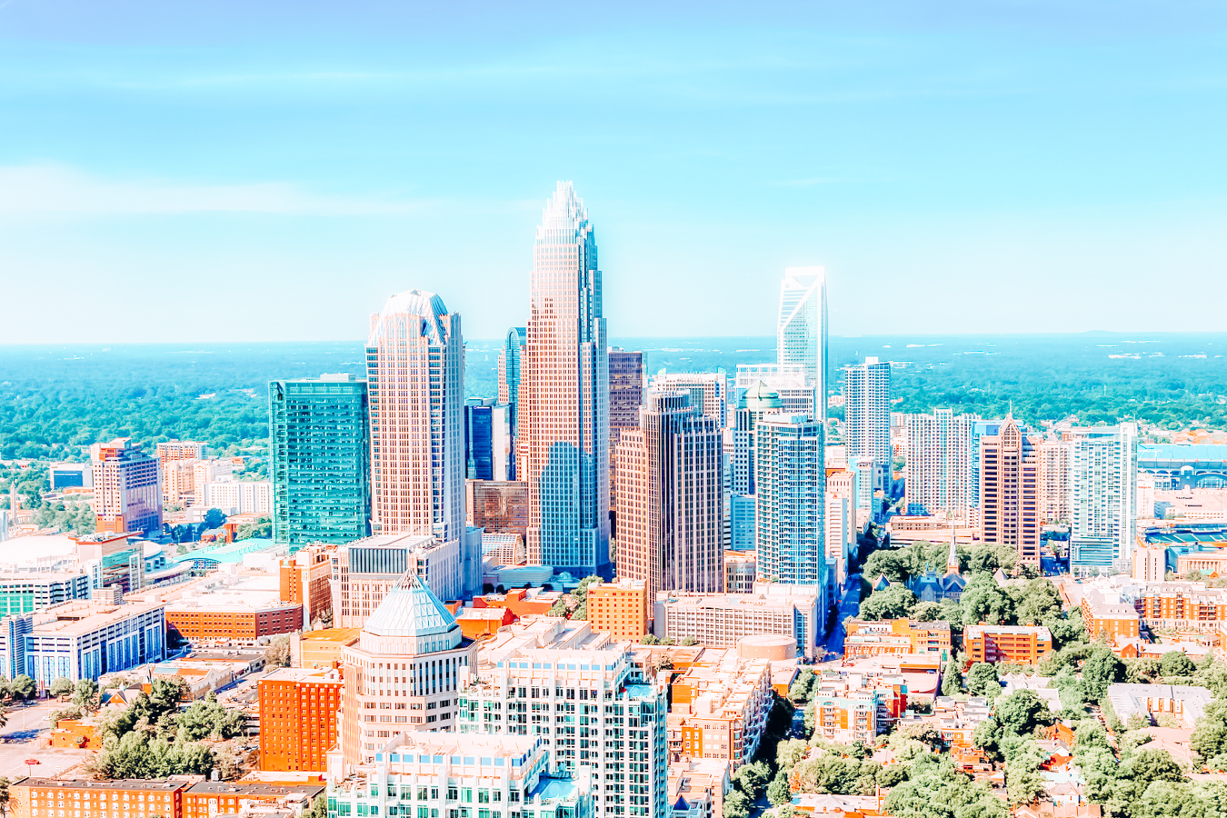 A view of Charlotte