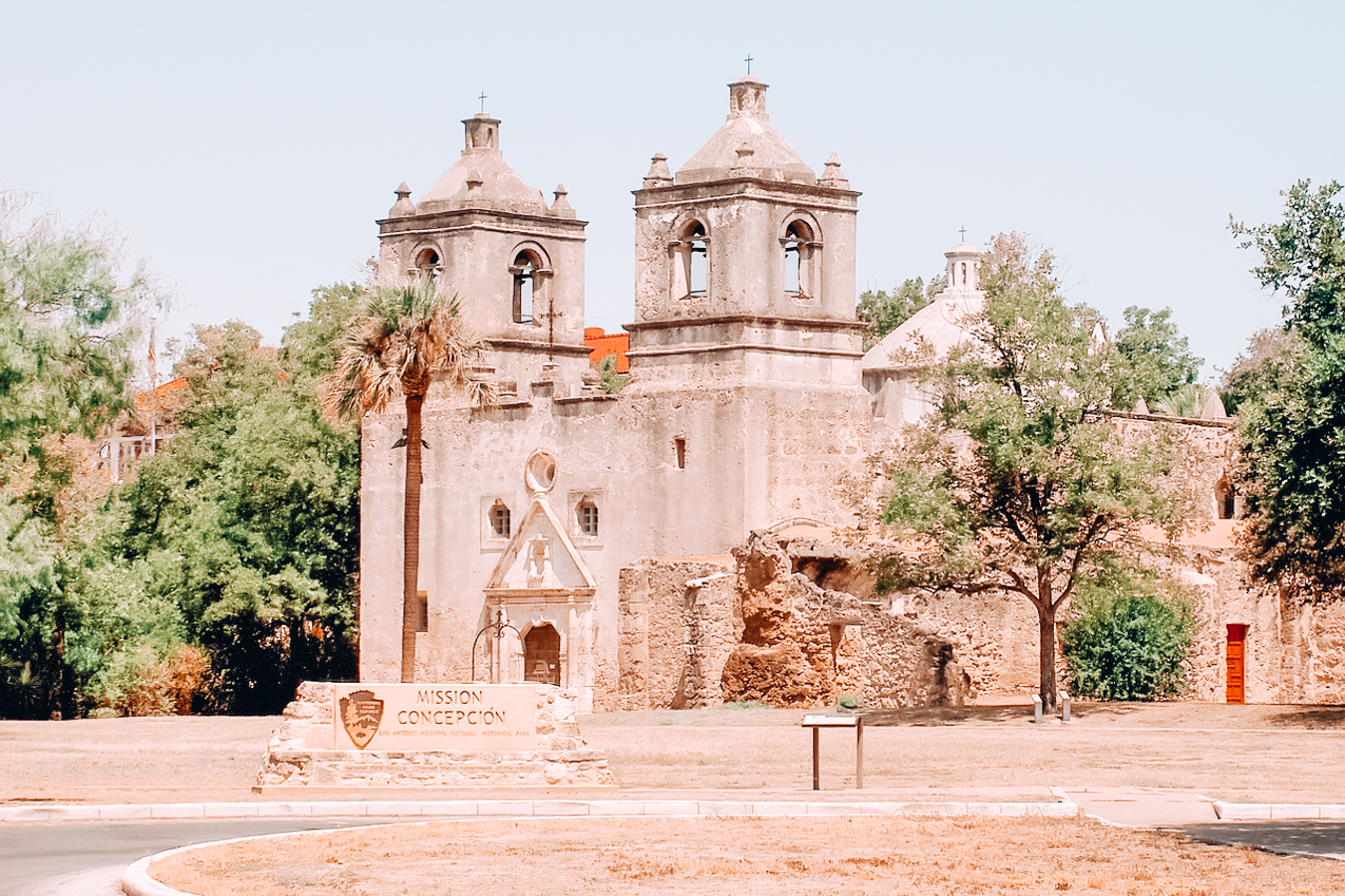 Building in San Antonio Missions National Historical Park