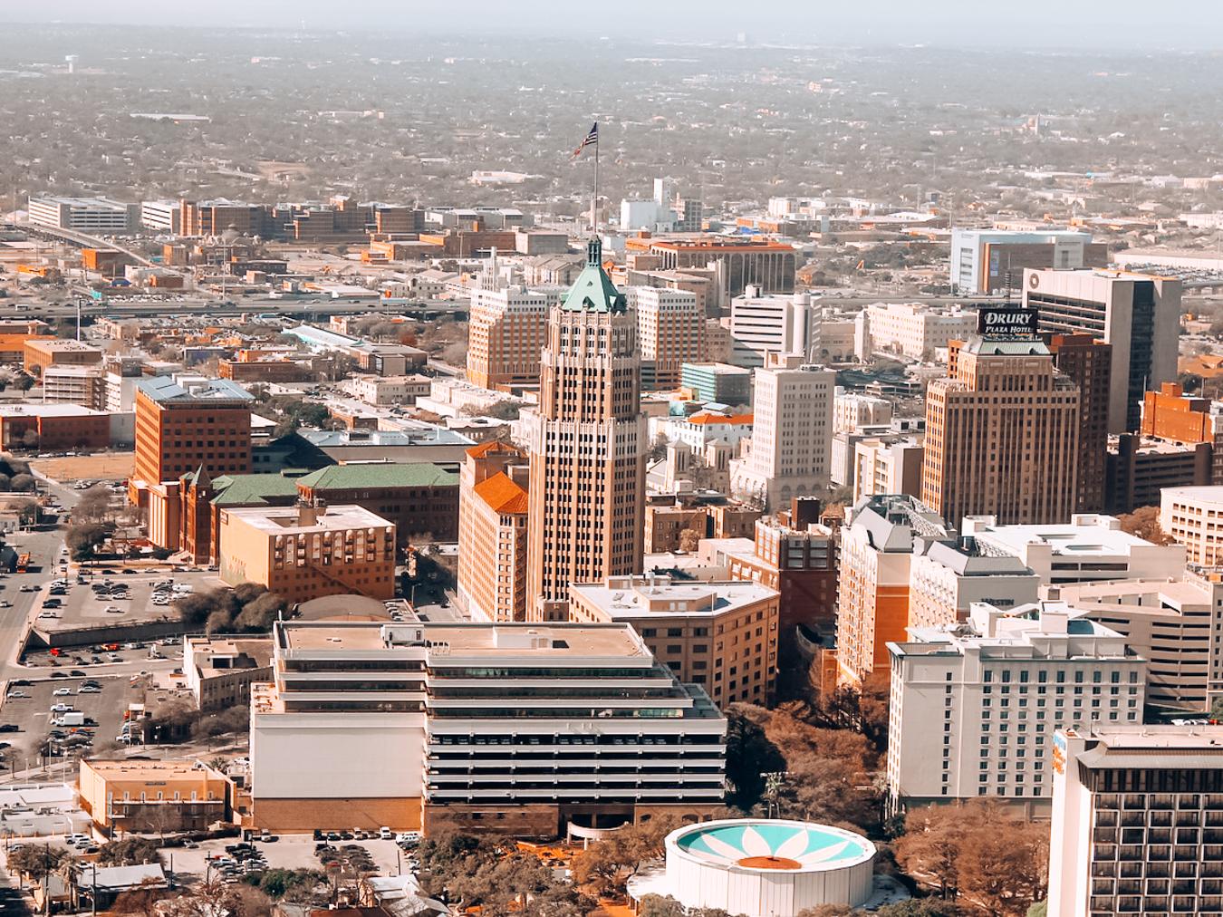 San Antonio from Above