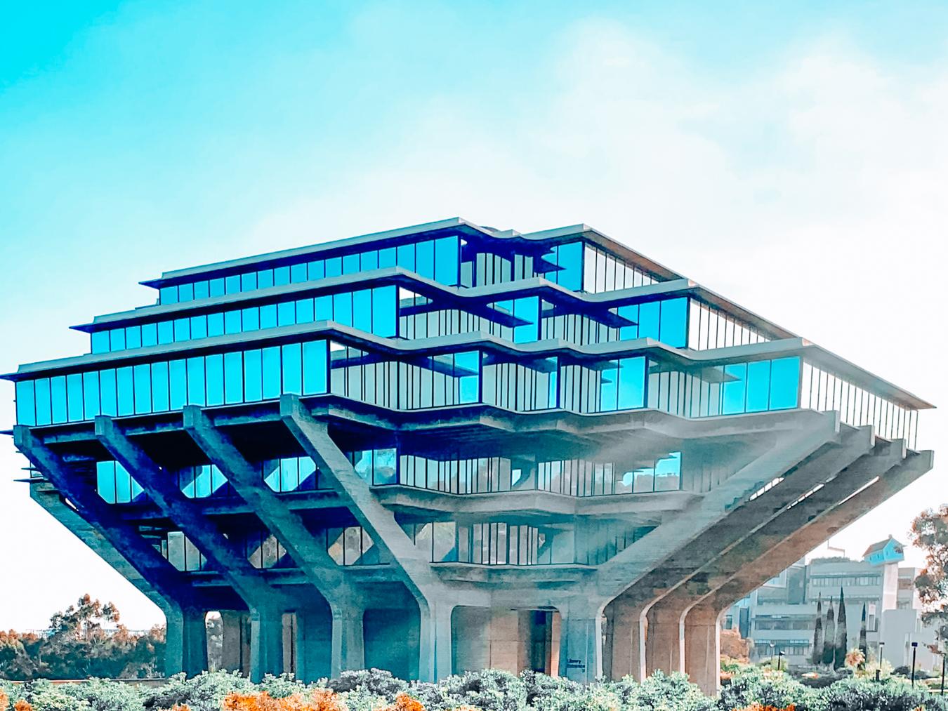 Building of UC San Diego