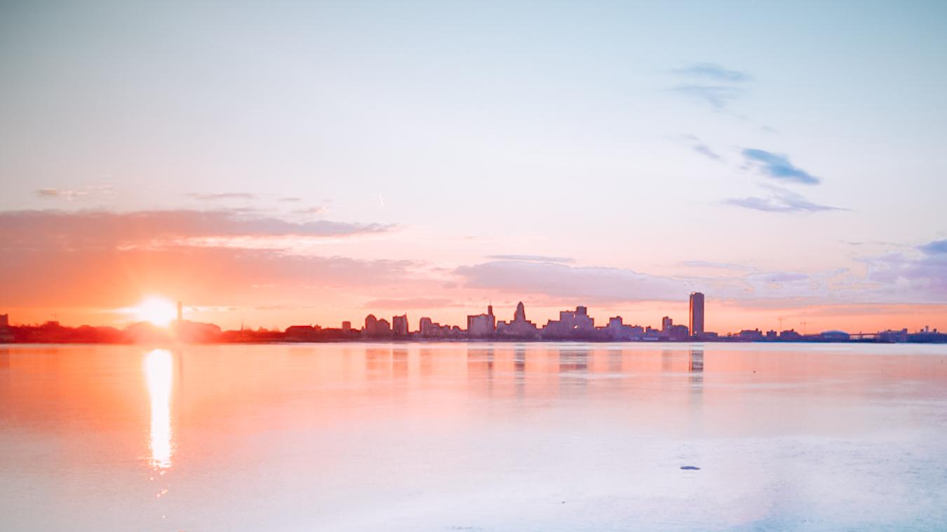 Skyline of Buffalo